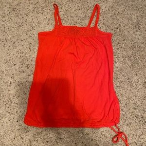 Coral colored Gap tank top